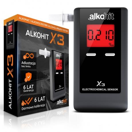 Alkohit X3 Alkomat dla Ciebie - PROMOCJA