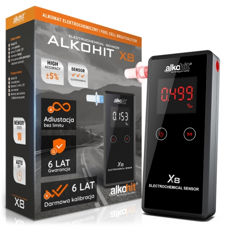 Alkomat ALKOHIT X8 NOWOŚĆ!