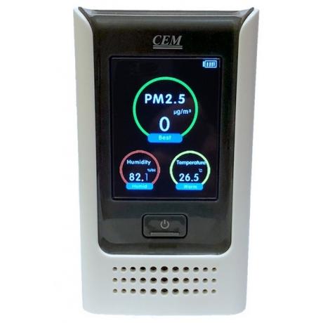 Miernik pyłów zawieszonych PM i jakości powietrza 122