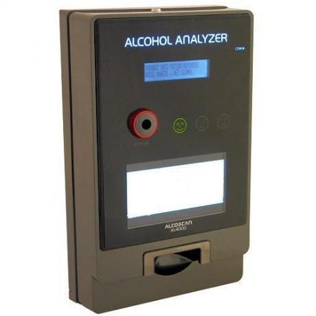Alkomat barowy AL 4000 z cyfrową ramką multimedialną