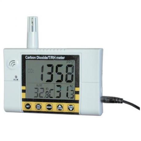 Miernik dwutlenku węgla VZ 7722 3in1
