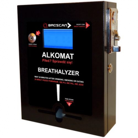 Alkomat barowy z wyświetlaczem TFT-LCD Promocja [ABBSF3]